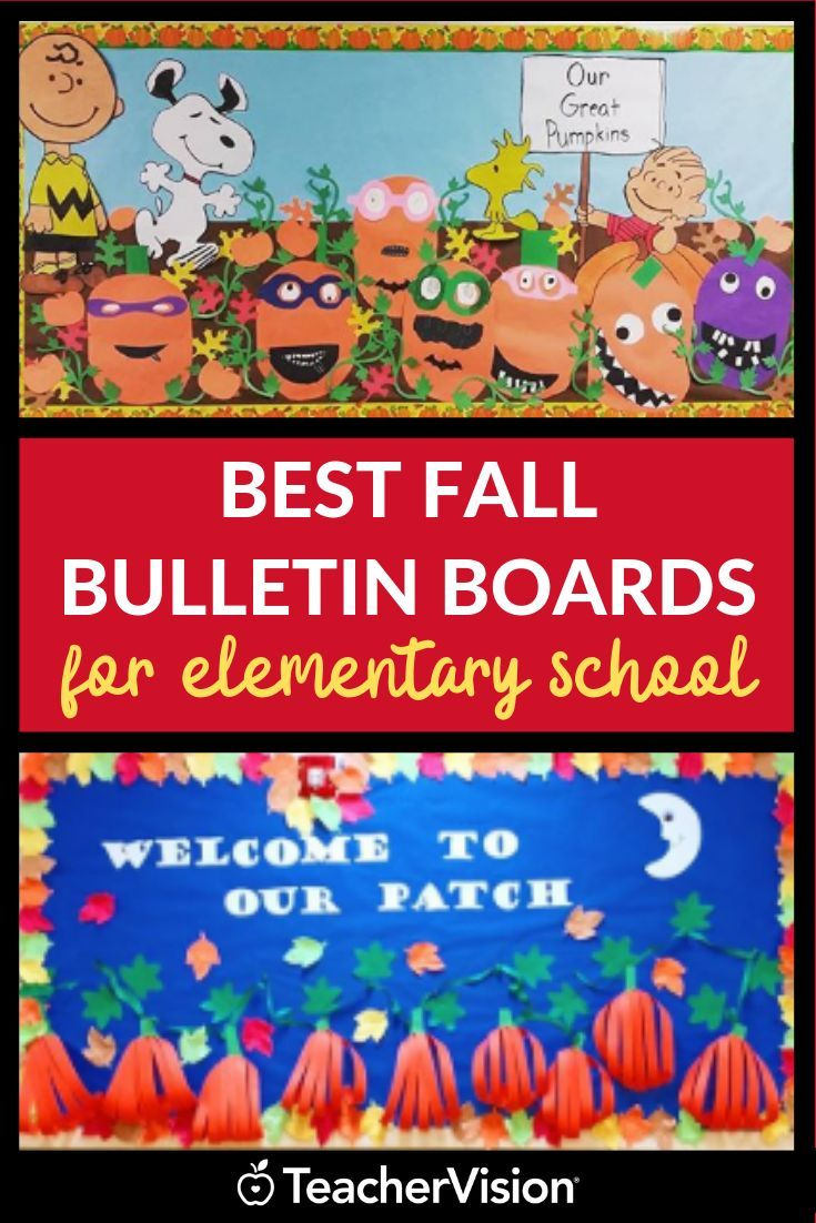 Our Favorite Fall Bulletin Boards and Classroom Door Decorations
