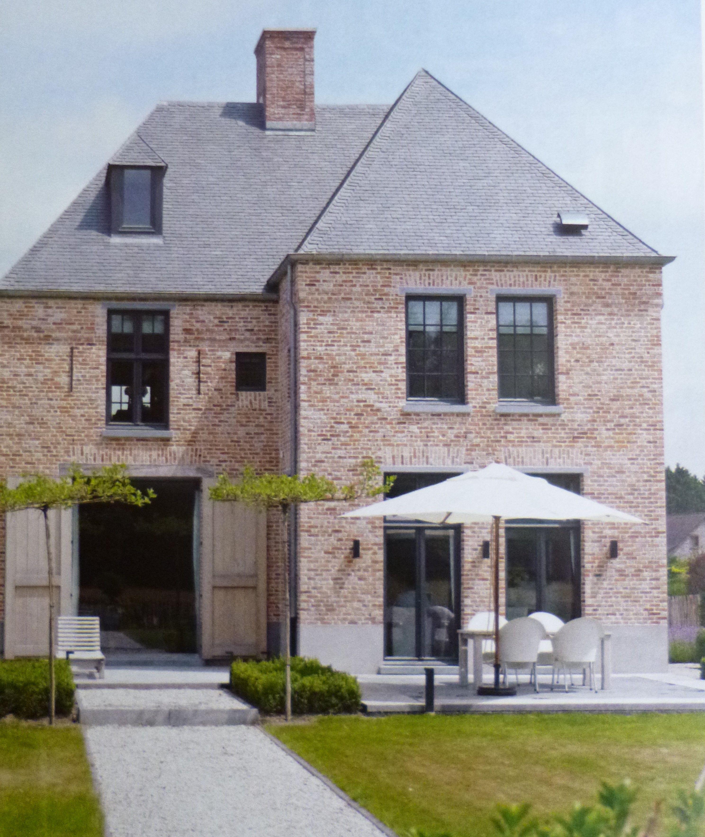 Pastorij stijl dromen pinterest ramen huizen en blog for Bouwen en interieur