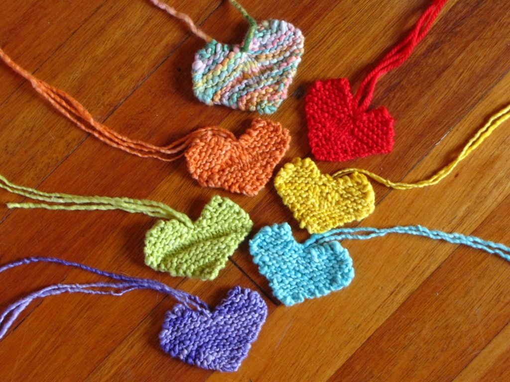 A Simple Valentine Heart Pattern