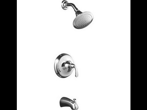 How To Fix A Leaky Tub Shower Faucet Youtube Tub Shower