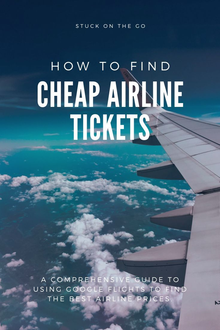 If you want to know how to find cheap flights every time this is the post for you. It shows you exactly how to use google flights to find the best flight deals. #cheapflights #flightdeals