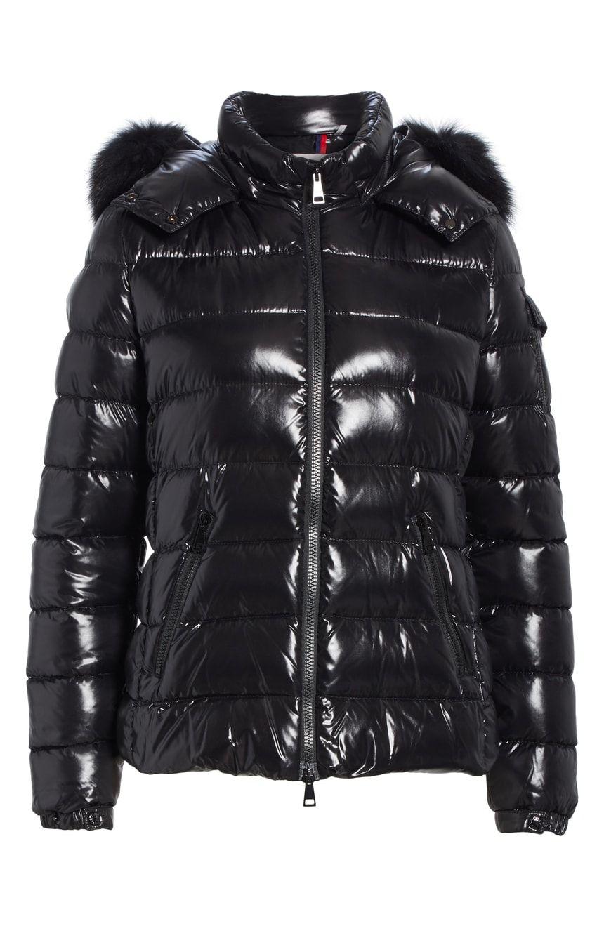 c90660b45 Moncler Badyfur Down Puffer Jacket with Detachable Genuine Fox Fur ...