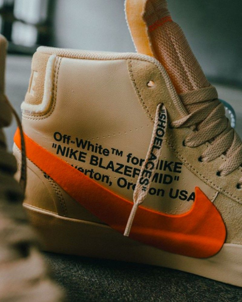 """official photos ca2a8 8b757 Off-White x Nike Blazer Mid """"All Hallows Eve"""" Sneakers Review"""