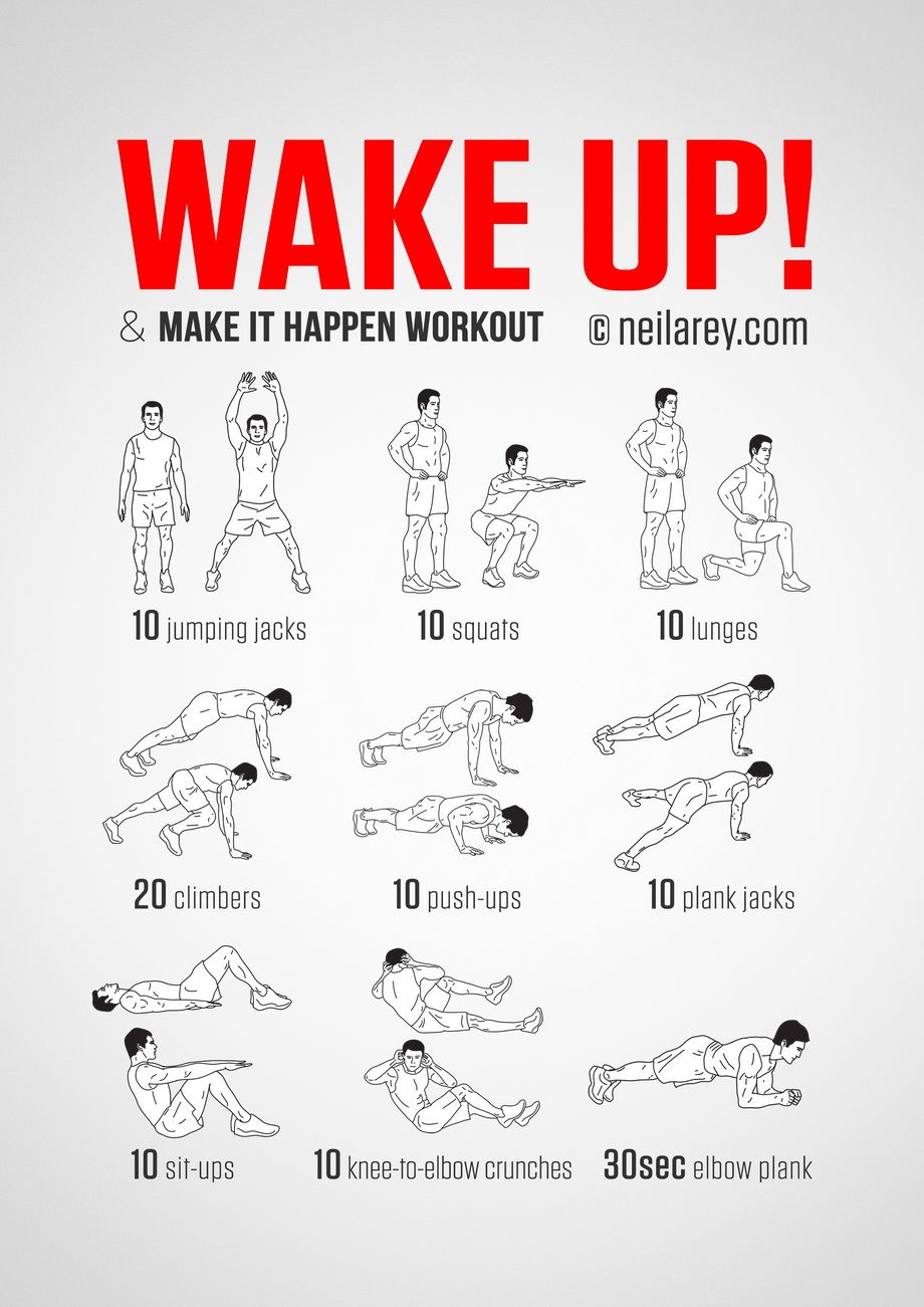No Equipment Body Weight Workout For Starting Your Morning