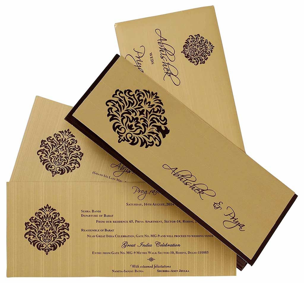 Image Result For Wedding Cards Designs Wedding Invitation Card