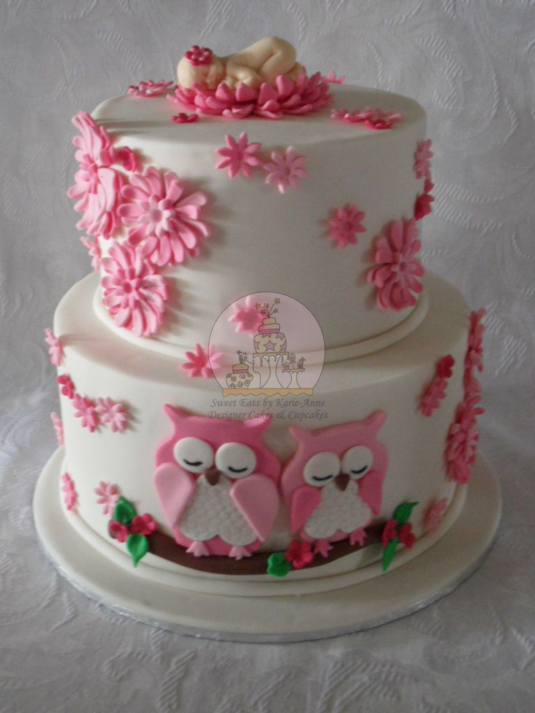 Owl Cakes For Baby Shower   Google Search