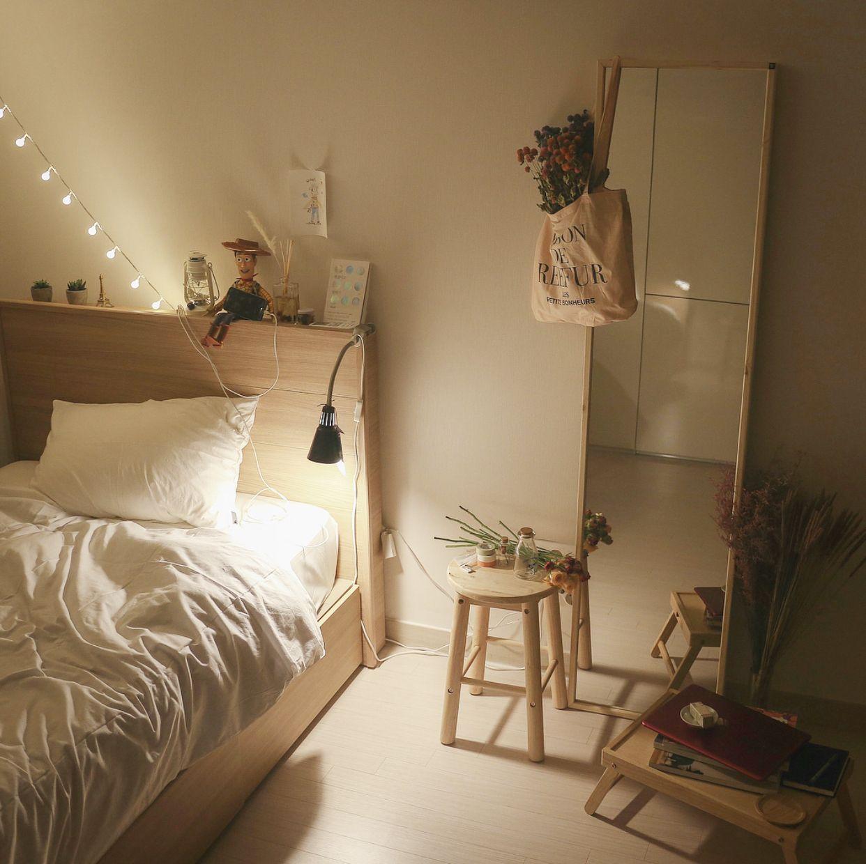 Pin By Sarakarimi On Apartment Ideas Study Room Decor Minimalist Room Aesthetic Bedroom