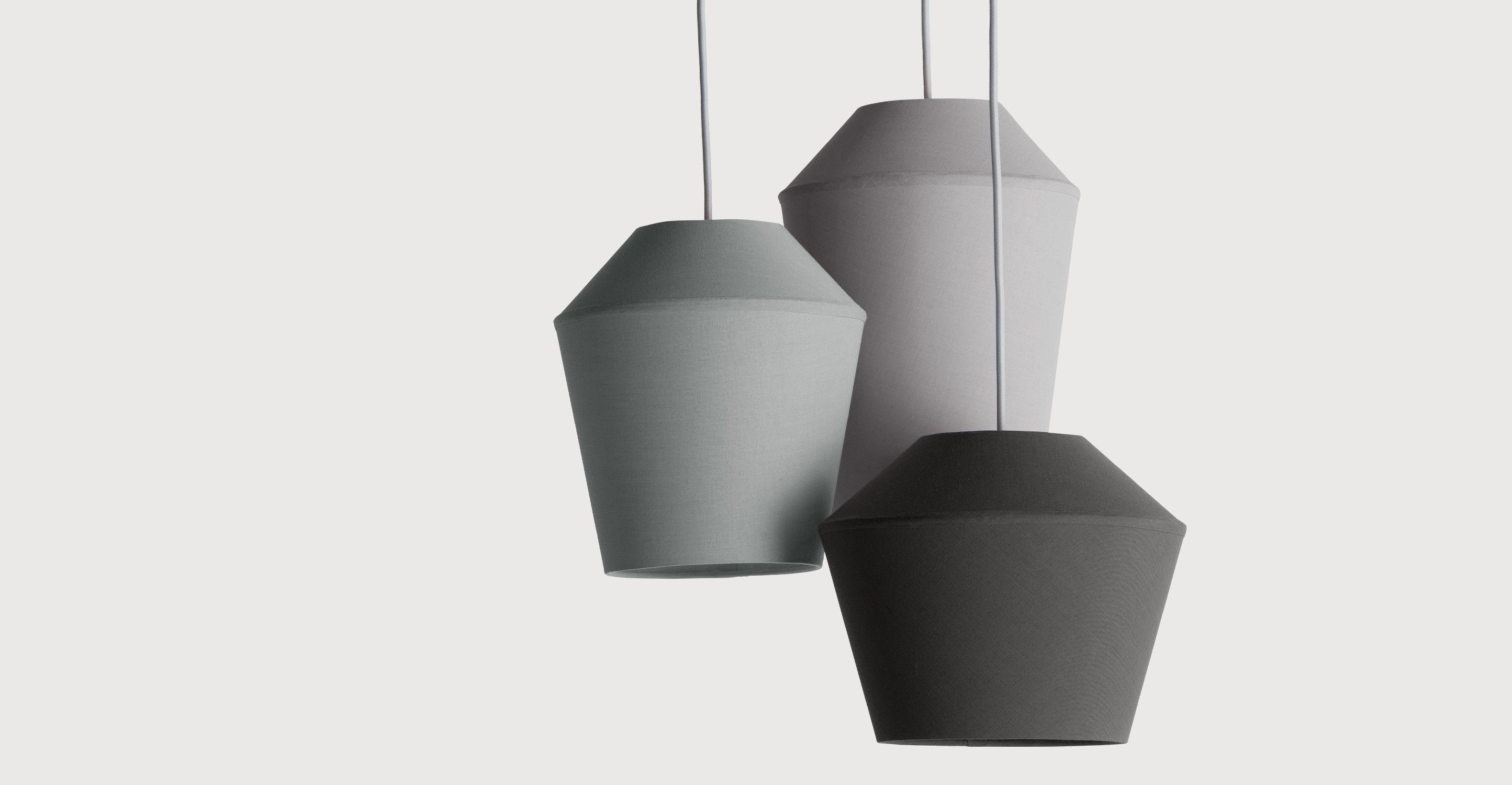 Günstige Wohnzimmerlampen ~ Tuli cluster pendelleuchte grautöne hängelampen beleuchtung und