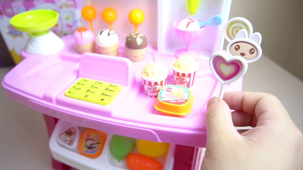 Kids Go To School Make Ice Cream Machines Toys Kids Play Relay