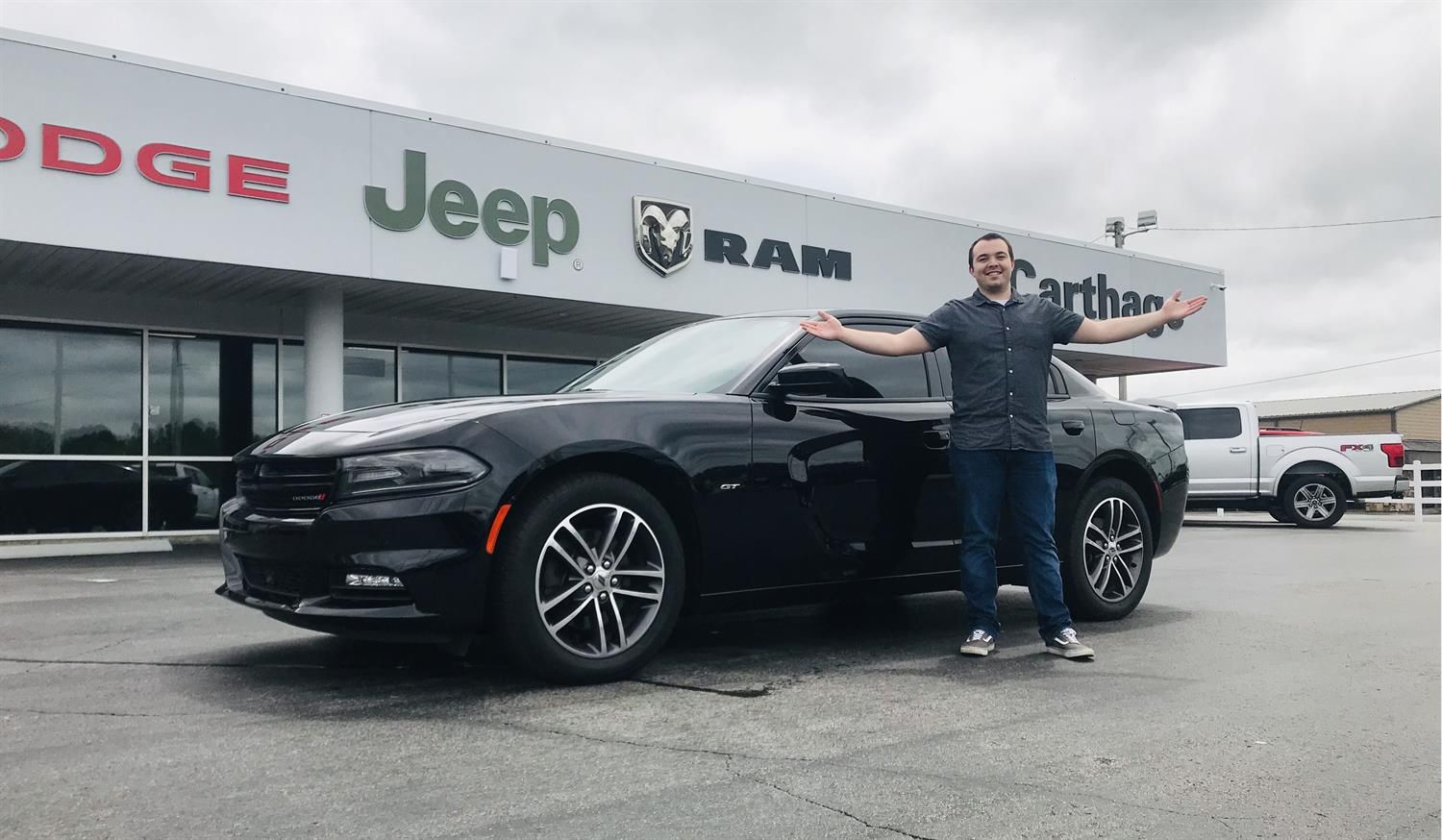 Trenton S New 2018 Dodge Charger Congratulations And Best Wishes