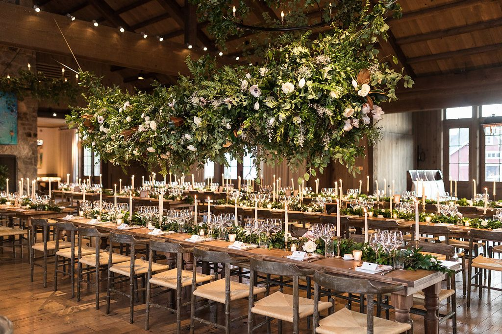 Lauren + Peter: Wintry Blackberry Farm Wedding | Head table ... most expensive wedding venues in the world 5 Of The Most Expensive Wedding Venues In The World da315908db8ce64e99c00c1f6f78e273