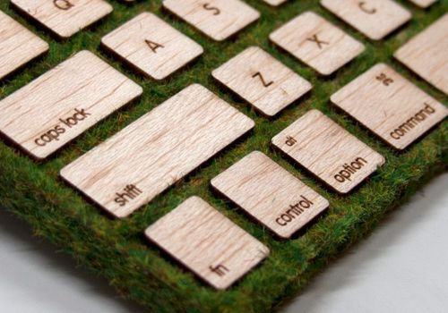 A vegetal keyboard