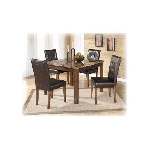Theo Square Dining Room Table With 4 Chairs Square Dining Room