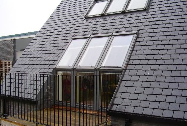 Velux Cabrio Balcony System Enjoy A Juliet Balcony In Your Roof Roof Architecture Patio Roof Roof Design