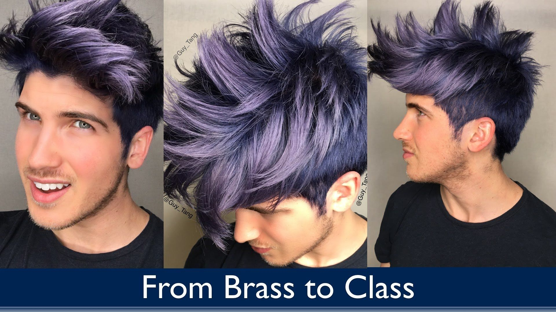 From Brass To Class Men Hair Color Pink Ombre Hair Silver Hair