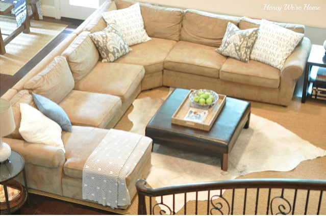 Honey Weu0027re Home: Our Living Room Sectional (Pottery Barn Pearce)