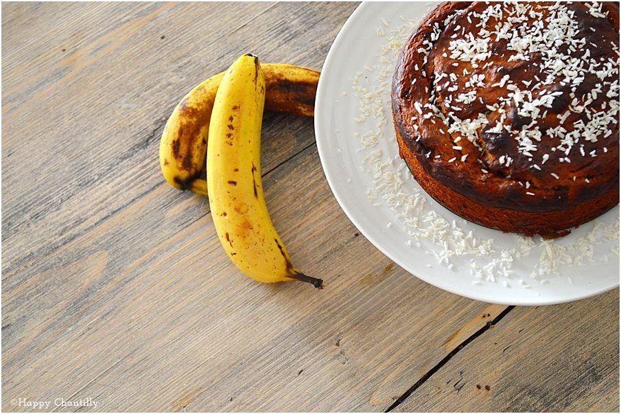 Banana bread végétal (ultra facile: 5 ingrédients ...