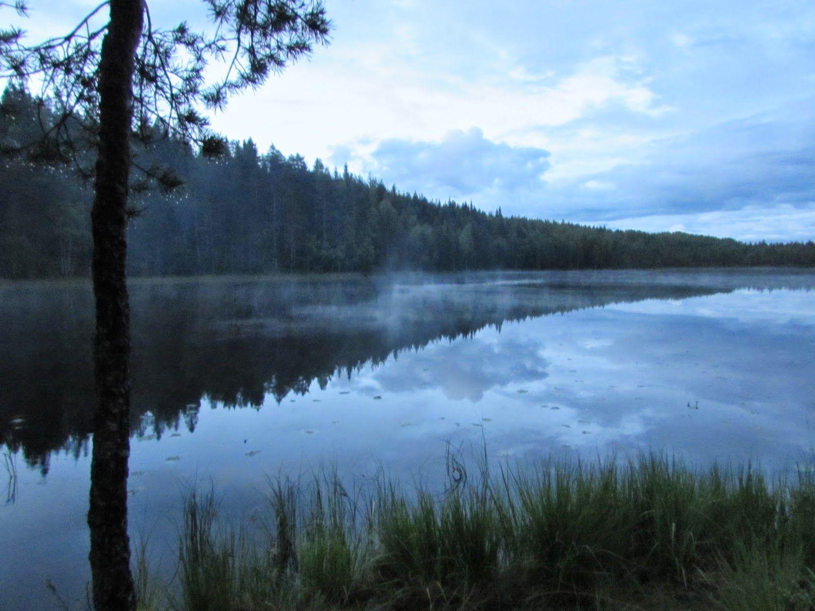 Midsummernight at Iso Ruokejärvi, Helvetinjärvi National Park       Finnish nature through my eyes - Sari Lapikisto