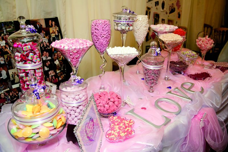 wedding table sweet ideas