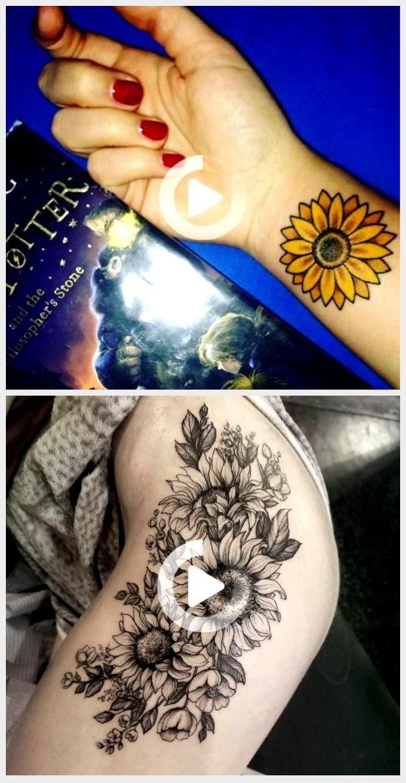 Photo of Small Sunflower Tattoo Design Ideas