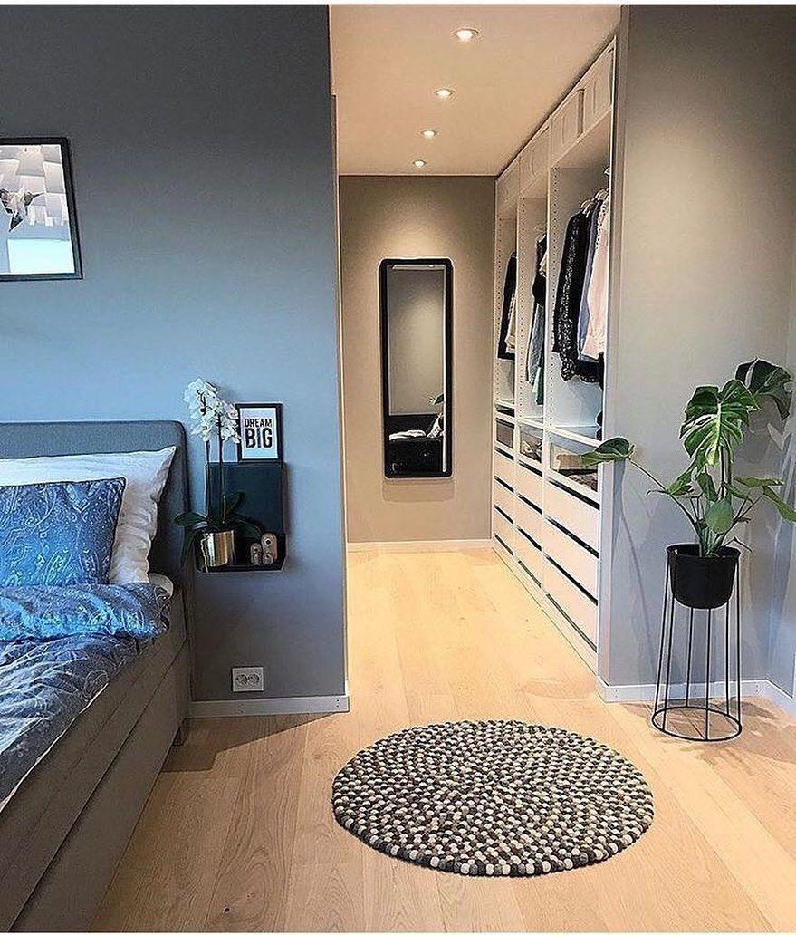 """Sunnys_Home on Instagram: """"[Werbung durch Verlinkung] Eine super elegante Lösung, die Ankleide so ins Schlafzimmer zu integrieren. Wer von euch hat ein…"""" - Welcome to Blog"""