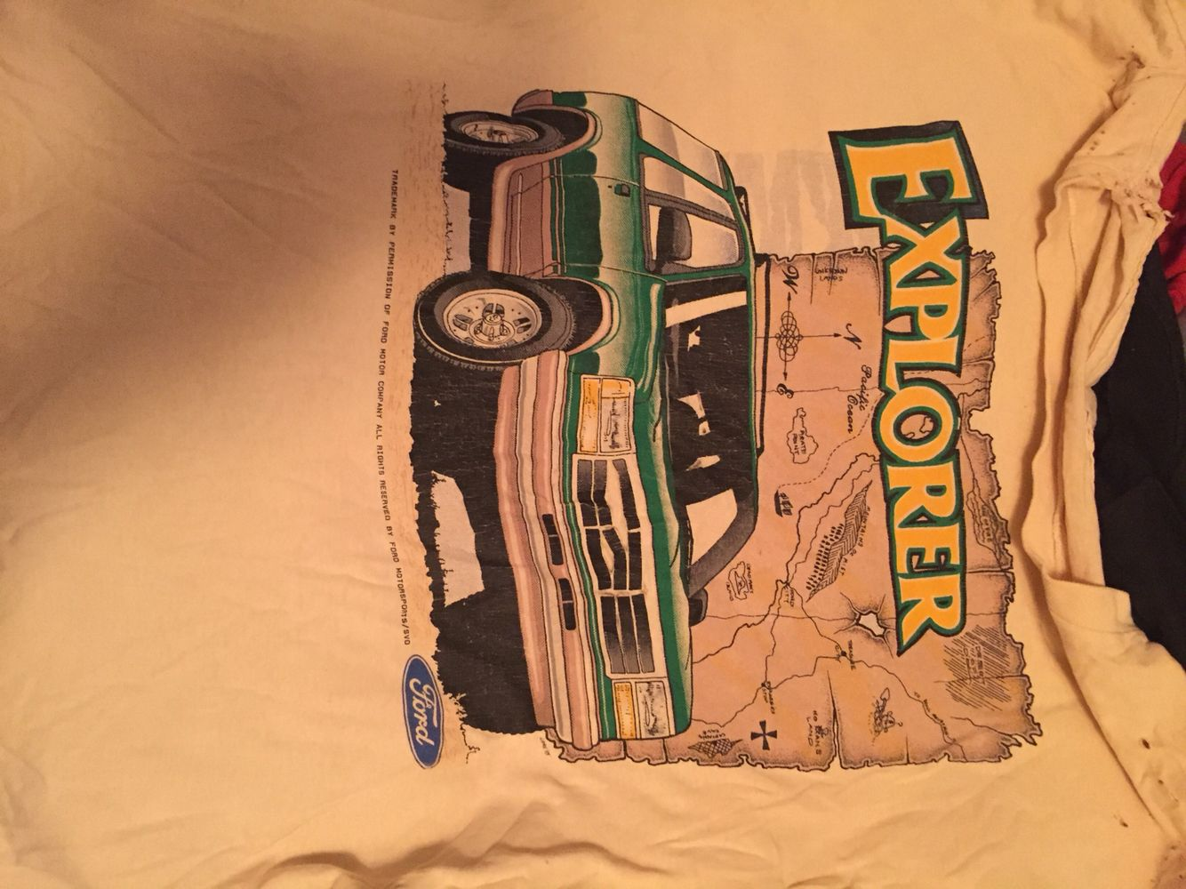 This is the second of these shirts I went through. Salvaged from Bob's Ford last garage fire years ago