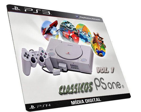 GAME PS3 PSN CLASSICOS PSONE COLEÇÃO MIDIA DIGITAL PARA PLAYSTATAION 3 ORIGINAL