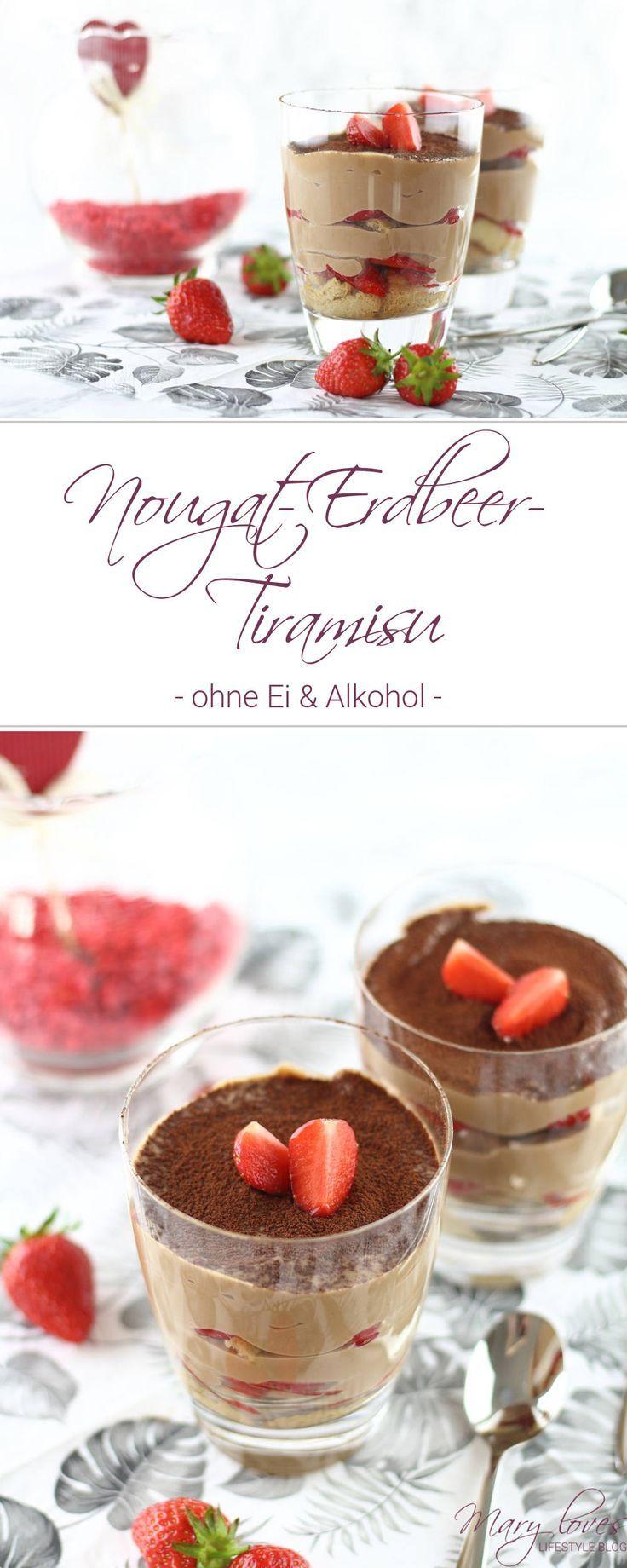 Cremig-fruchtiger Dessert-Traum: Nougat-Erdbeer-Tiramisu ...