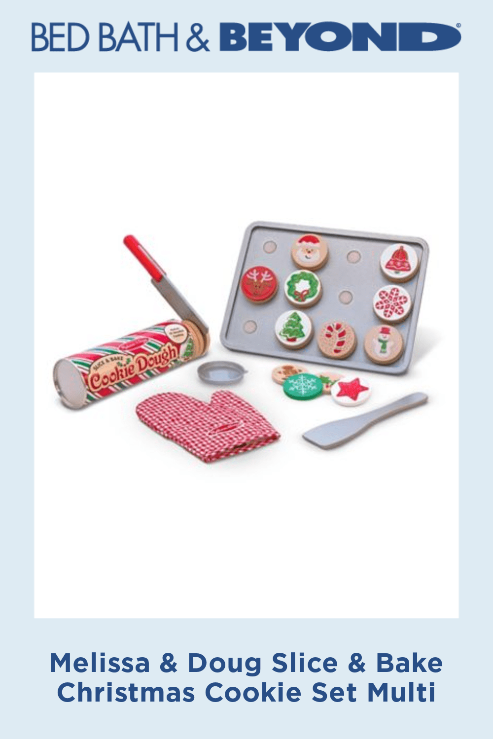 Melissa & Doug Slice & Bake Christmas Cookie Set Multi #sliceandbakecookieschristmas