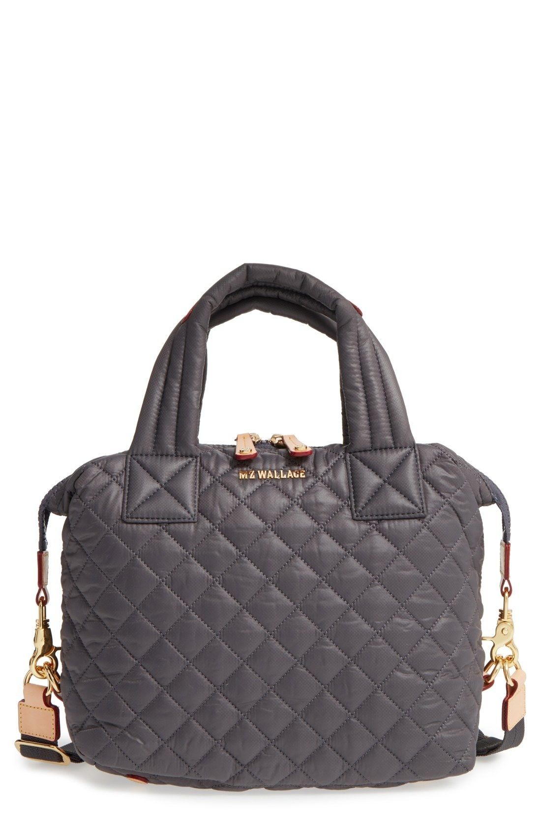 Mz Wallace Small Sutton Quilted Oxford Nylon Crossbody Bag Available At Nordstrom
