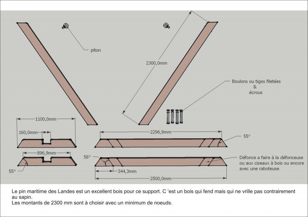 comment fabriquer un support de hamac soi même en 2020   Hamac diy, Comment fabriquer un et Pin ...