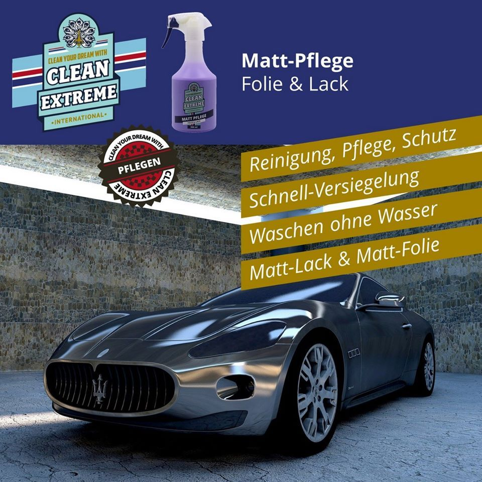 Matt Pflege Folie Lack Mit Versiegelung Detailer Fahrzeugpflege Lackpflege Pflege