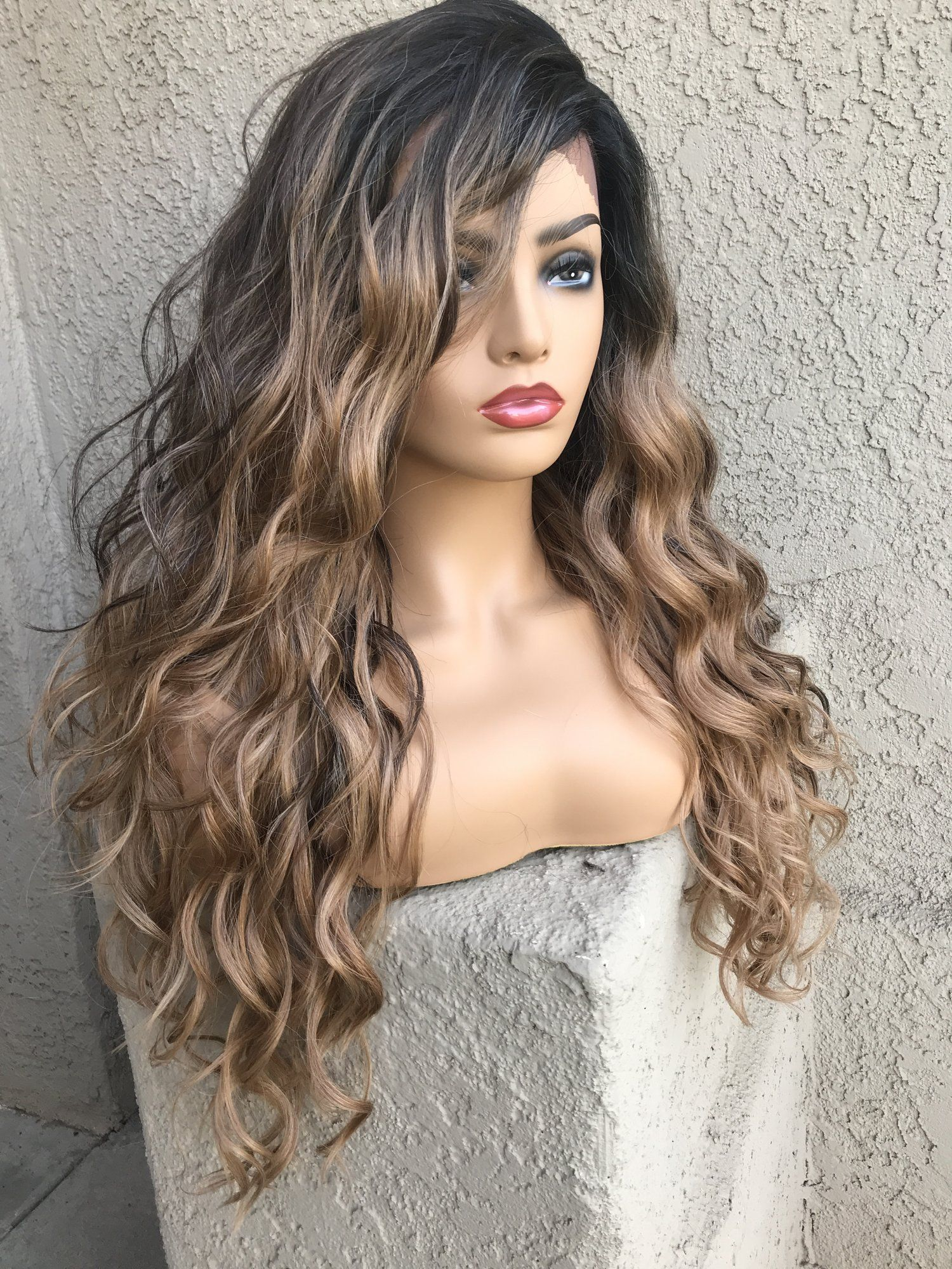 Chardonnay lace front wig lace front wigs wigs long
