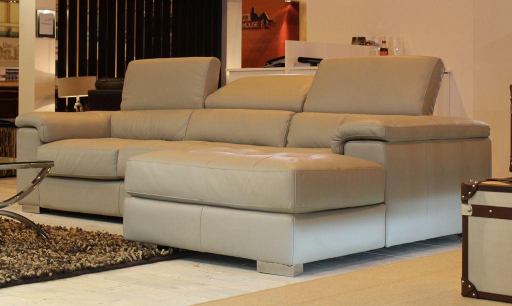 Vincenzo Premium Natuzzi Italian Leather Sofa