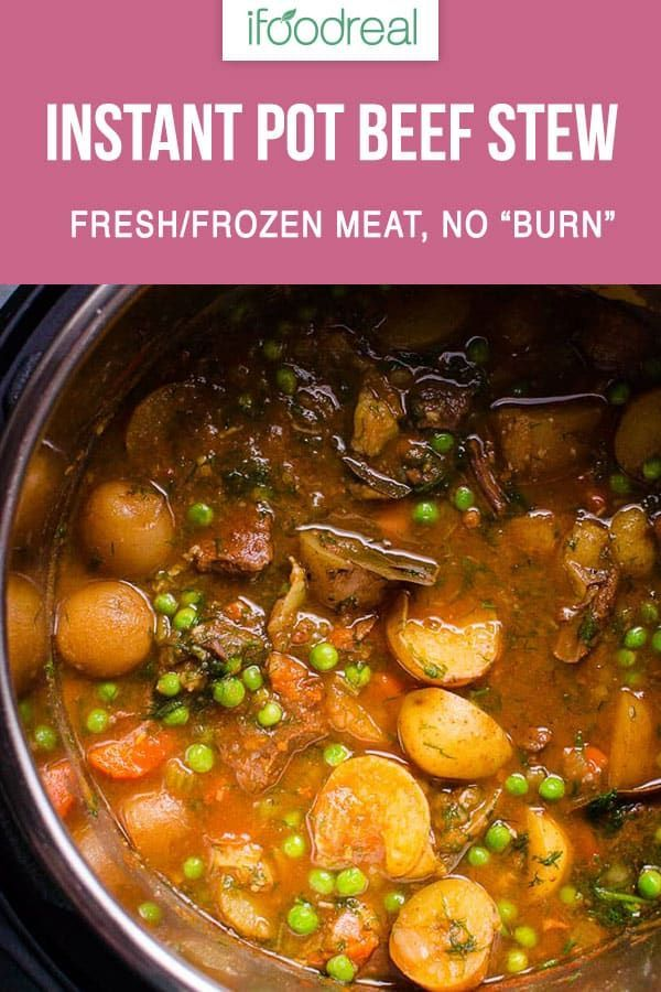 The easiest and most flavourful Instant Pot Beef Stew Recipe you will find on th...   - WW Instant Pot Recipes -