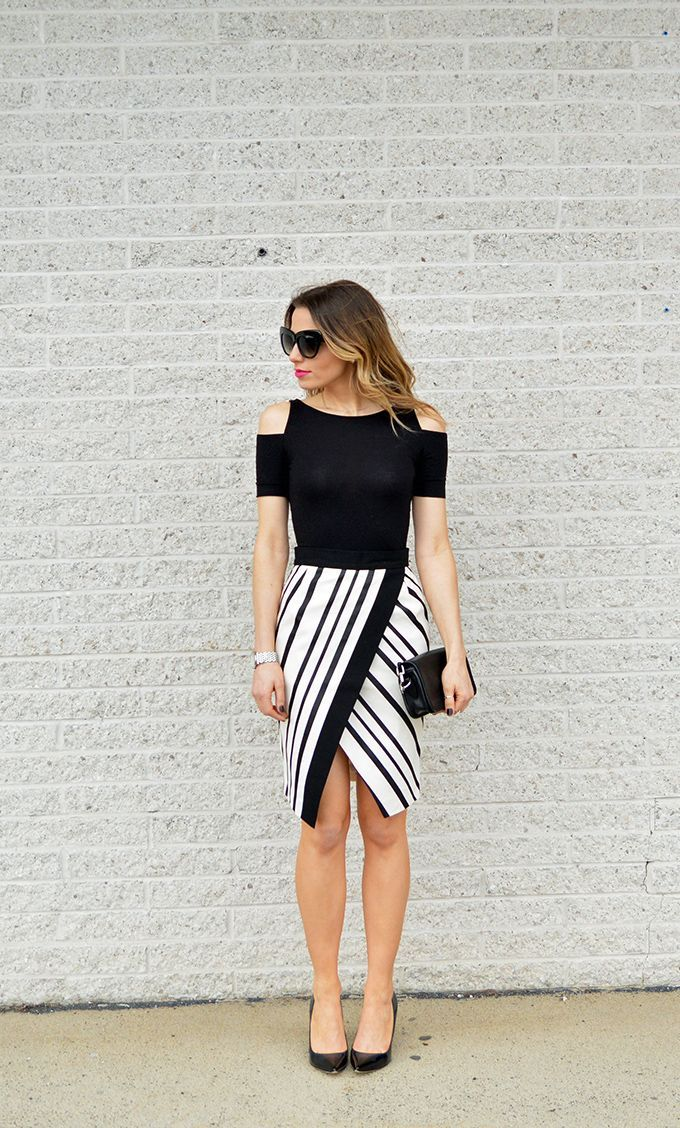 HOW TO STYLE BLACK AND WHITE FOR SPRING | Best Friends For Frosting