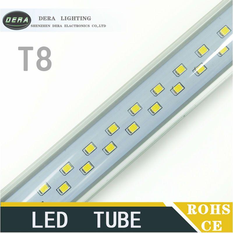 $680.40 (Buy here: http://appdeal.ru/5839 ) 60PCS T8 2ft 14W double line tube light led fluorescent lamp smd 2835 600mm ac 110v 220v Super Brightness wall light for just $680.40