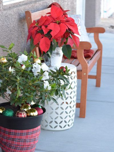 DIY Merry Sign + Holiday Porch with Lowe's & Habitat for Humanity