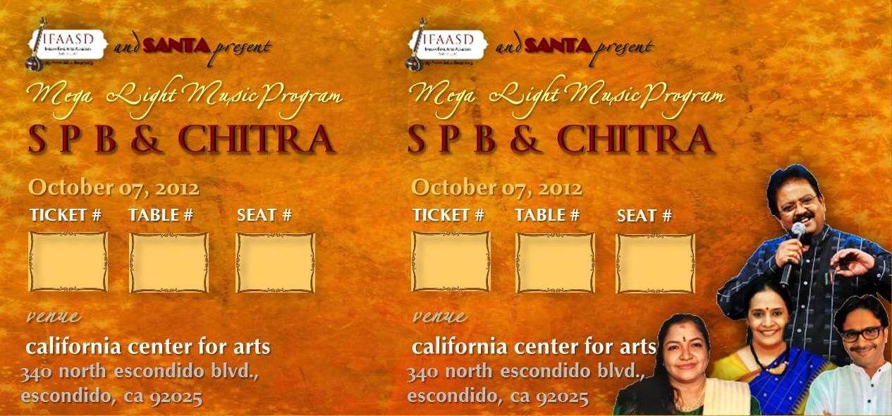 Ticket Design for SPB concert by Ōviya Design Studio | Event
