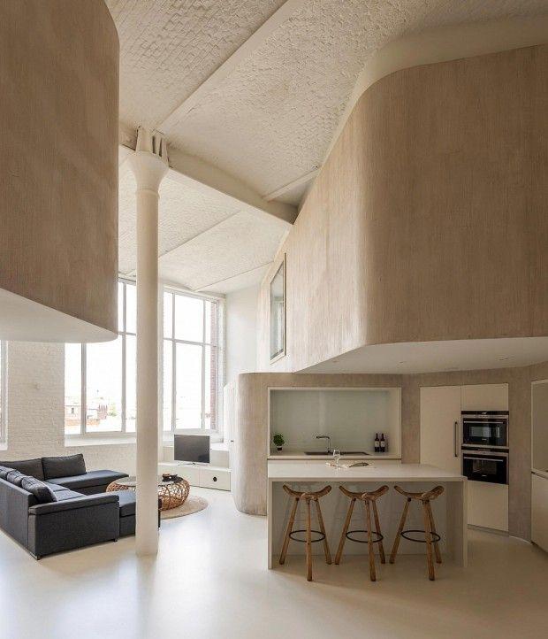 Réhabilitation d\u0027une usine par Graux  Baeyens Architecten
