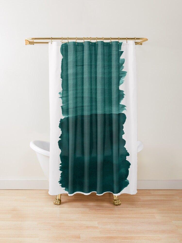 teal bathroom decor teal shower curtains