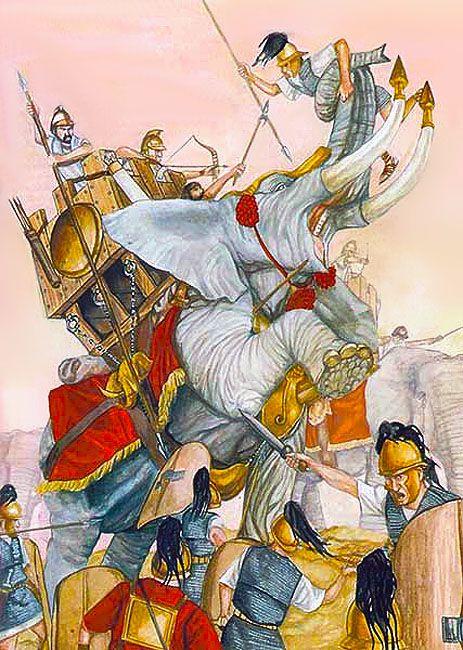 Punic War Elephant
