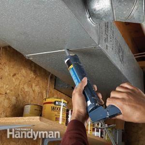 Plug Leaky Ducts With Images Home Repair Repair Heating And