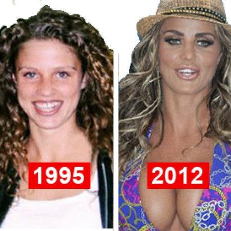 Katie Priceu0027s (rather Extensive) Plastic Surgery Timeline