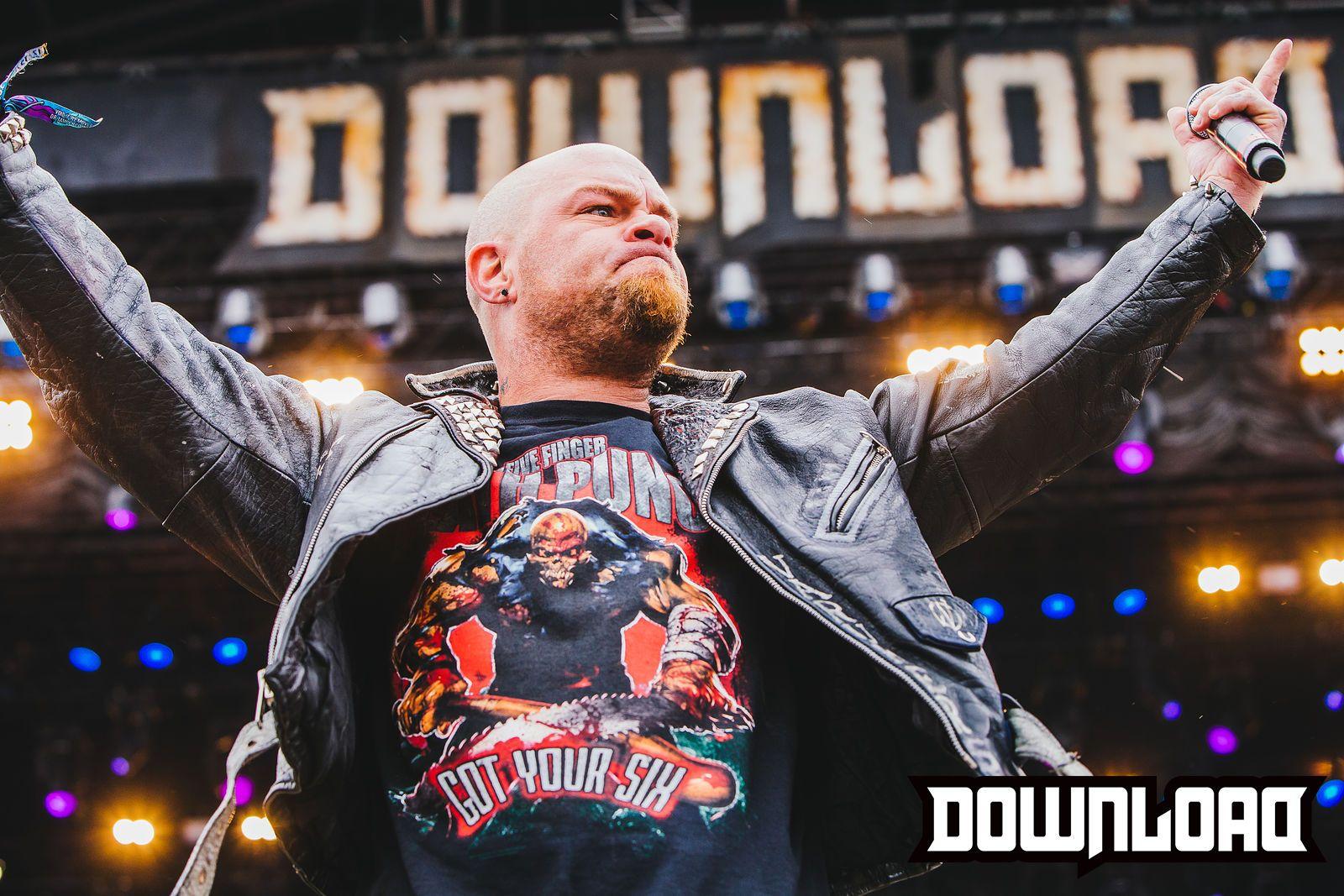 Five Finger Punch Download Festival 2015