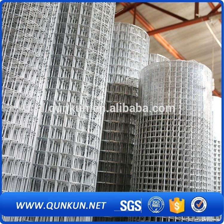 China Alibaba Hot Dipped Galvanized Heavy Gauge 1x1 Welded Wire Mesh Form Anping Hot Dip Wire Mesh Alibaba
