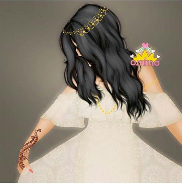 Pin By 𝓡 𝓾 ق 𝓲 𝓪 On Boda Lovely Girl Image Cute Girl Drawing Digital Art Girl