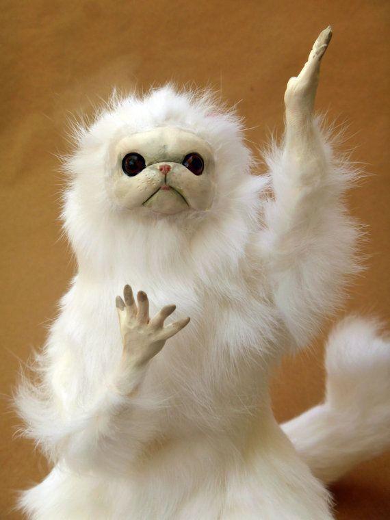 Persian Cat Room Guardian by Anyaboz on Etsy, $60.00 | Rostos de ...