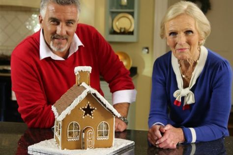 Mary Berry S Gingerbread House Recipe Gingerbread House Recipe Mary Berry Gingerbread House Template