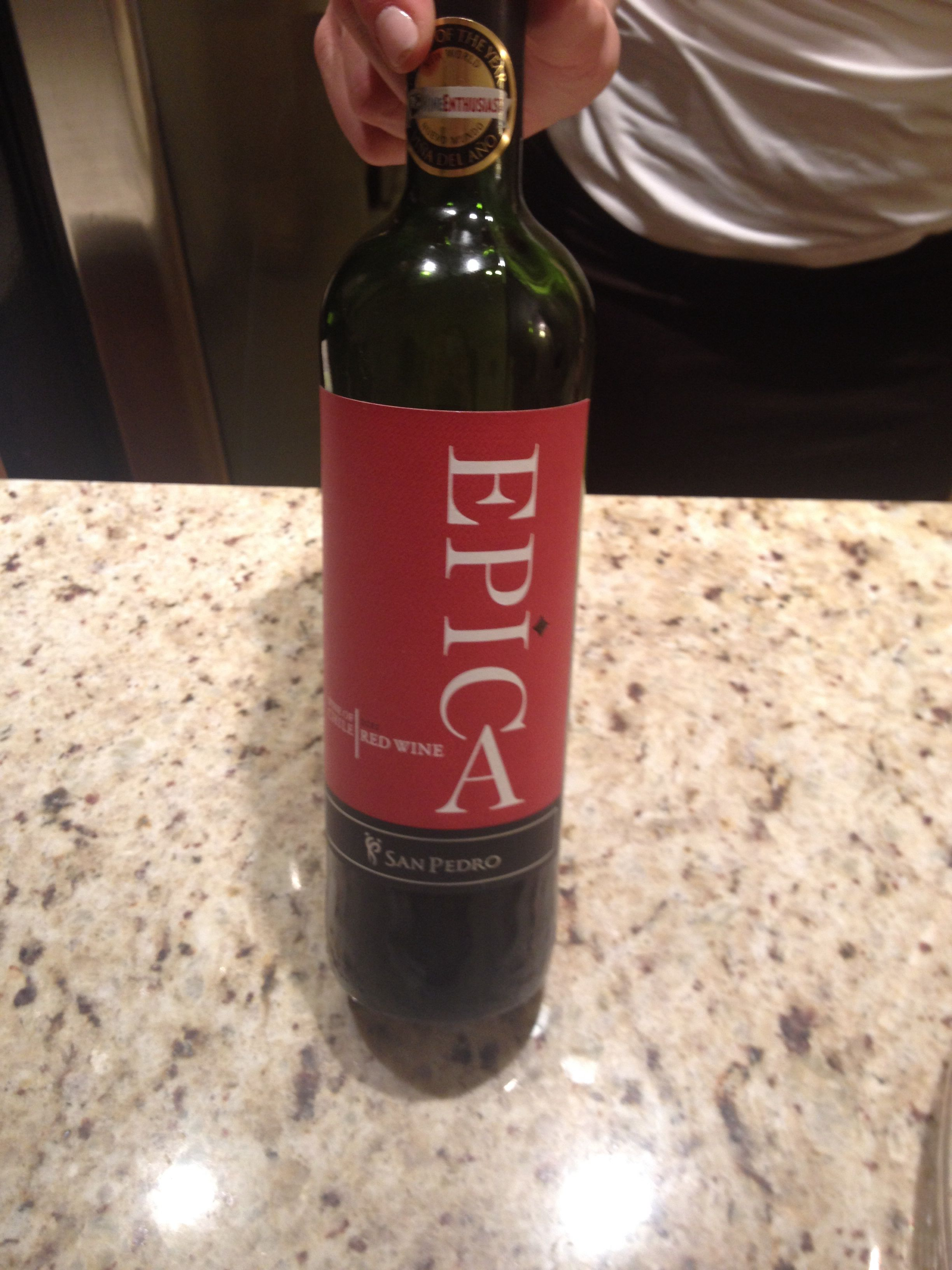 Epica Chilean Wine Wine Bottle Wine Tasting Wines